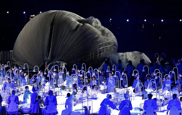 Olympic opening Ceremony - London 2012